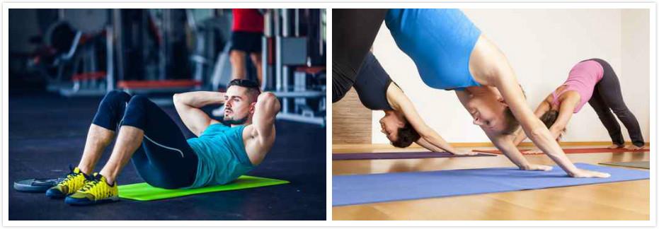 八款瑜伽垫,满足你的入门、进阶需求