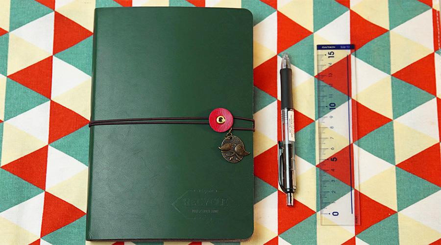 一个本子一支笔就能开始的手帐教程(多图预警,内含时间管理术)